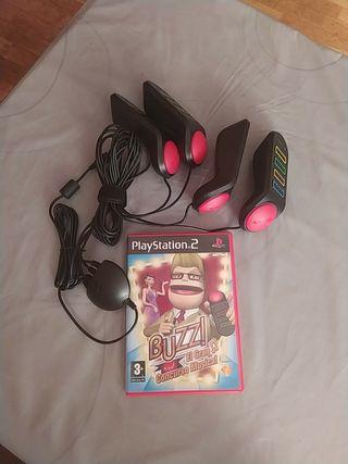 PlayStation 2 juego Buzz el gran concurso musical