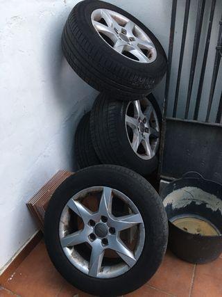 Neumáticos audi originales