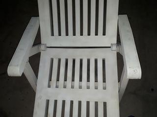 * Hamaca Tumbona jardín blanca grande