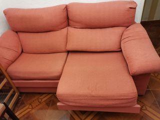 Sofá - cama 2 plazas naranja