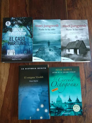 Pack novela negra/thriller (5 libros)