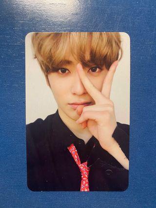 Jaehyun Photocard: NCT 127 Cherry Bomb Mini Album