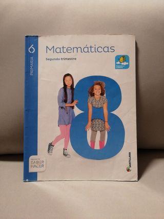libro de matemáticas 6º de primaria segundo trimes