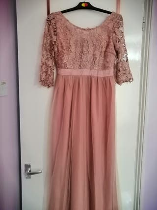Nude Pink Party/Prom Dress