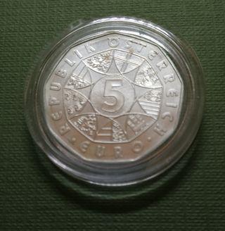 Moneda de 5 euros - Austria 2003