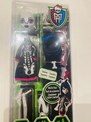 Monster High Crea tu monstruo Squeleton