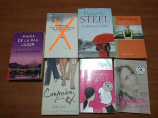 Pack libros en italiano (6 libros)