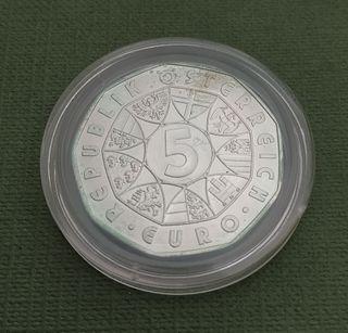Moneda de 5 euros - Austria 2007