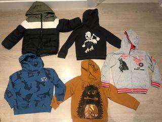 Lote de ropa 6 años