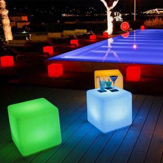 Cubo cuadrados led