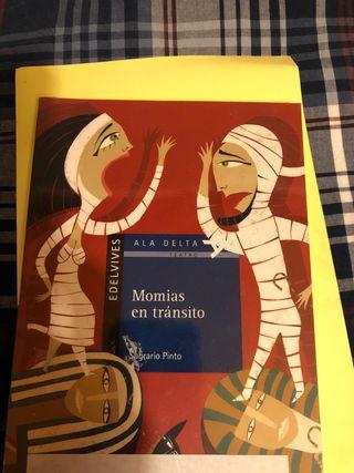 Libro Momias en tránsito, Edelvives, Sagrario Pint