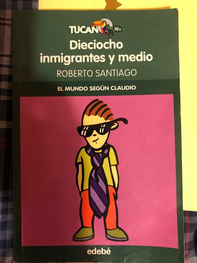 Libro Dieciocho inmigrantes y Medio