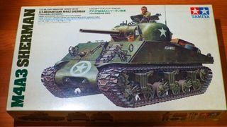 Maqueta Tamiya Sherman M4A3 1/35 35122