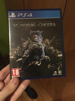 Tierra Media Sombras de Guerra: PS4