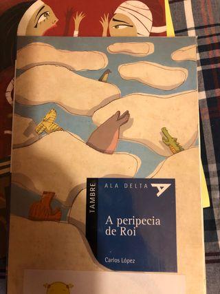 Libro A peripecia de Roi, Carlos Lopez, Tambre