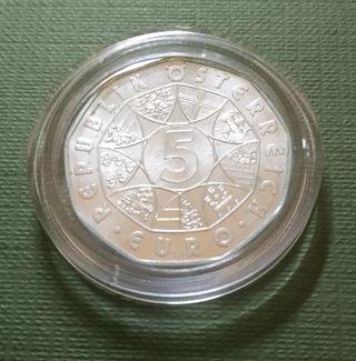 Moneda de 5 euros - Austria 2004 - Unión Europea