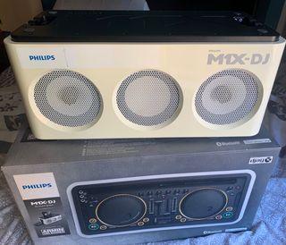 ALTAVOZ , CONTROLADOR MX1 -DJ PHILIPS