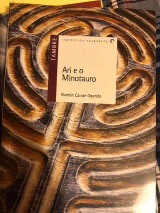 Ari e o Minotauro libro lectura