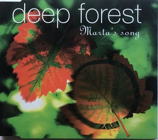 CD Single Deep Forest Martas song
