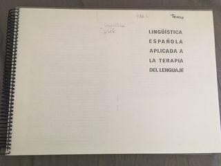 """Libro """"Lingüística española aplicada a la tetapia"""""""