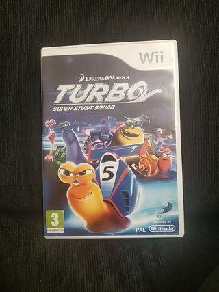 Juego Wii Turbo