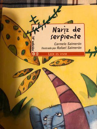 Libro Nariz de Serpiente