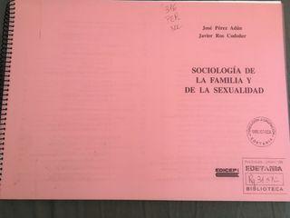 """Libro """"sociología de la familia y de la educación"""""""