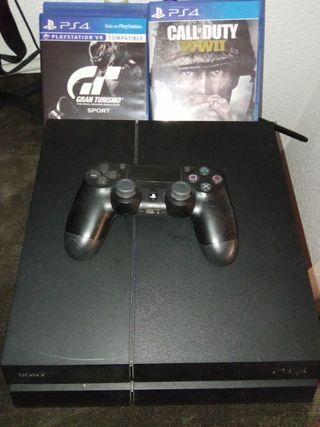 PS4 Mando y juegos