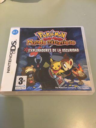 Pokémon mundo misterioso y equipo de rescate azul