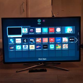 Samsung smart led 3d 46 inch1080p tv with soundbar