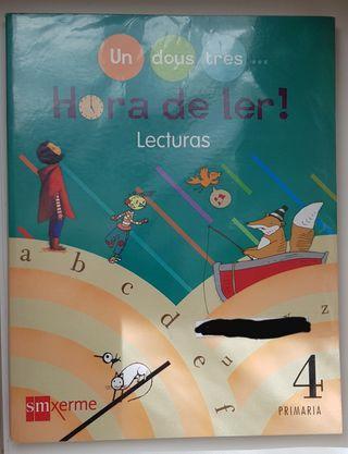 ¡ Hora de ler!. Lecturas 4° Primaria