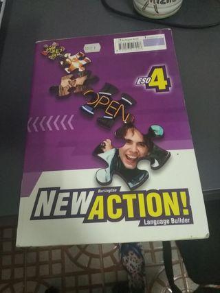 Libro de actividades de inglés 4°