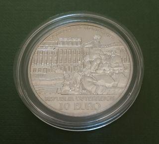Moneda 10 euros Austria 2003 - Palacio Schonbrunn