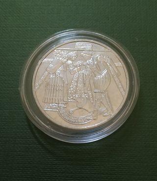 Moneda 10 euros Austria 2003 Castillo Schloss Hof