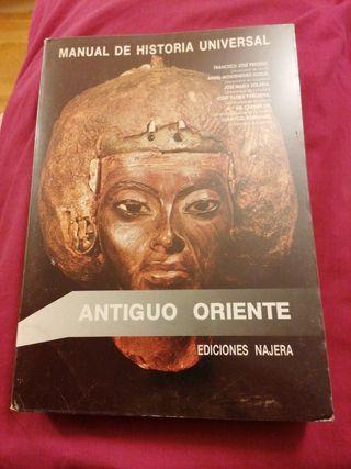 Manual de Historia Universal.Antiguo Oriente Najer