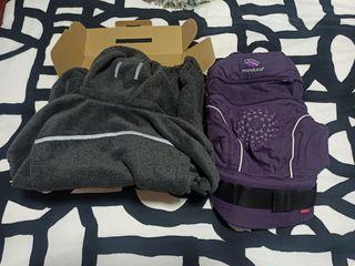 Manduca mochila portabebés y manta
