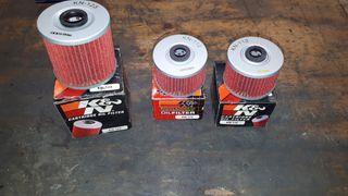 filtros de aceite kn