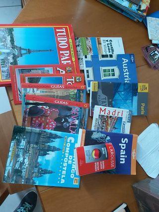 Lote libros y guías de viaje