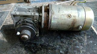 Motor DC con reductora