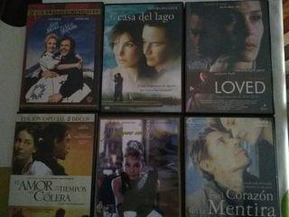 Pack de 6 películas en DVD