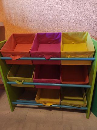 Organizador para niños