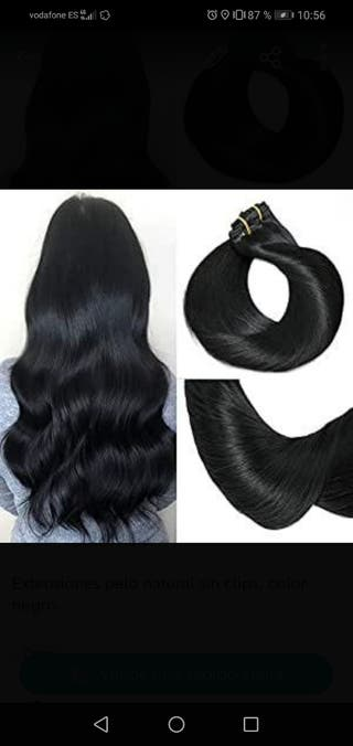 Extensiones pelo natural remy