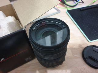 Sigma 18 200 f3.5 Canon