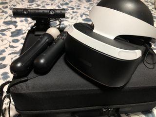 Playstation VR + 2 Move + Cámara