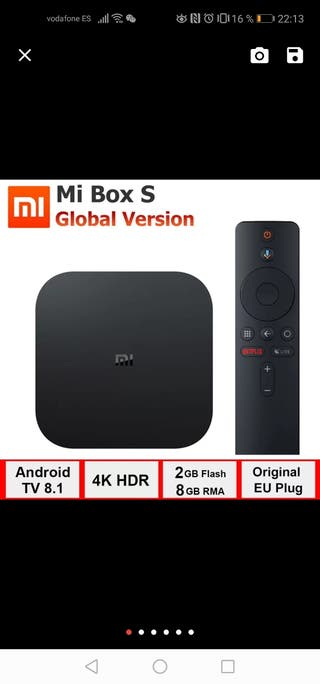 Xiaomi Box S ( version Global)