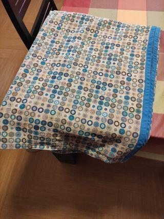 colcha y cortinas