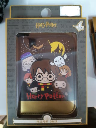 Cartera para Pasaporte Harry Potter