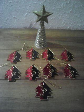 lote adornos arbol de navidad