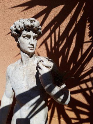 Estatua jardin ennperfecto estado 120cm altura
