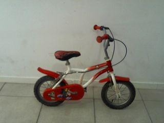 Bicicleta infantil Mickey Mouse
